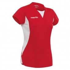 IRIDIUM SHIRT / LADIES (RED-WHITE)