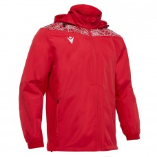 LAHTI SHOWER JACKET (RED-WHITE)