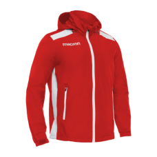 REVOLUTION CALGARY SHOWER JACKET (RED-WHITE)