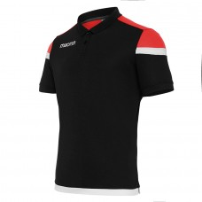 COMPETITION SHOFAR POLO (BLACK-RED)