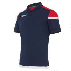 COMPETITION SHOFAR POLO (NAVY-RED)