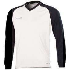 CABRIO LS SHIRT (WHITE-BLACK)