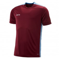 CHARGE SS SHIRT (MAROON-SKY)