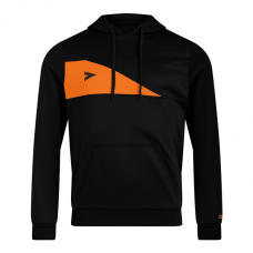DELTA PLUS HOODED TOP (BLACK-ORANGE)