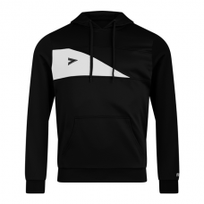 DELTA PLUS HOODED TOP (BLACK-WHITE)