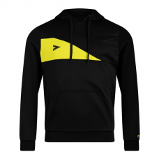 DELTA PLUS HOODED TOP (BLACK-YELLOW)