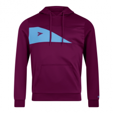 DELTA PLUS HOODED TOP (MAROON-SKY)