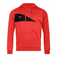 DELTA PLUS HOODED TOP (RED-BLACK)