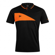 DELTA PLUS POLO (BLACK-ORANGE)