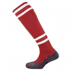 DIVISION TEC SOCK (MAROON-WHITE)