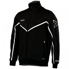 PRIMERO FZ POLY JACKET (BLACK-WHITE)