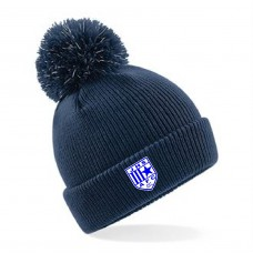 BOBBLE BEANIE INC EMBROIDERED BADGE