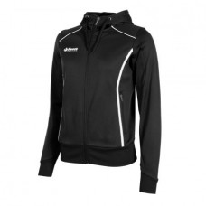 CORE FZ HOODED TOP/ LADIES (BLACK)