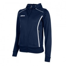 CORE FZ HOODED TOP/ LADIES (NAVY)