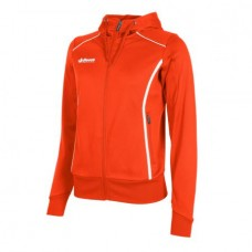 CORE FZ HOODED TOP/ LADIES (ORANGE)