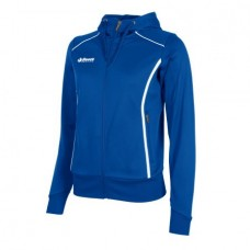 CORE FZ HOODED TOP / LADIES (ROYAL)