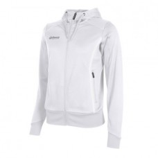 CORE FZ HOODED TOP/ LADIES (WHITE)