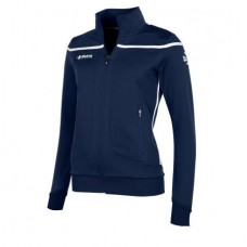 VARSITY FZ JACKET/ LADIES (NAVY-WHITE)
