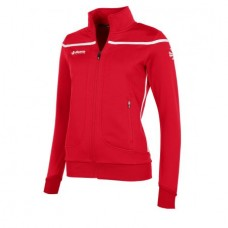 VARSITY FZ JACKET/ LADIES (RED-WHITE)
