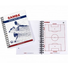 SAMBA COACH NOTEPAD A5
