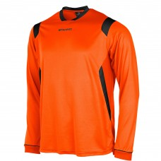 AREZZO LS SHIRT (ORANGE-BLACK)