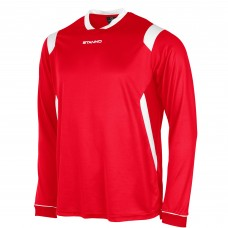 AREZZO LS SHIRT (RED-WHITE)