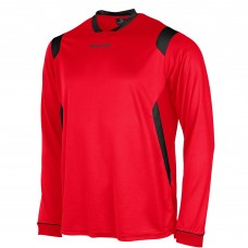 AREZZO LS SHIRT (RED-BLACK)