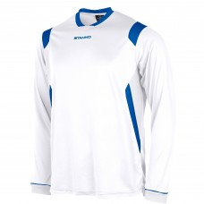 AREZZO LS SHIRT (WHITE-ROYAL)
