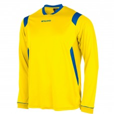 AREZZO LS SHIRT (YELLOW-ROYAL)
