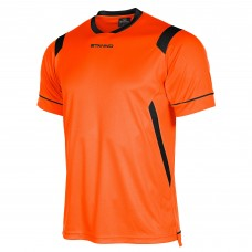 AREZZO SS SHIRT (ORANGE-BLACK)