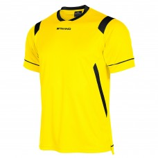 AREZZO SS SHIRT (YELLOW-BLACK)