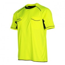 BERGAMO REFEREE SHIRT (NEON YELLOW-BLACK)