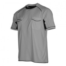 BERGAMO REFEREE SHIRT (GREY-BLACK)