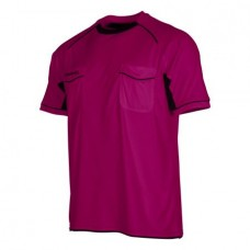 BERGAMO REFEREE SHIRT (FUCHSIA-BLACK)