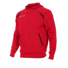 CENTRO HOODED SWEAT TOP (RED)
