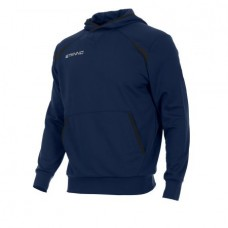 CENTRO HOODED SWEAT TOP (NAVY)