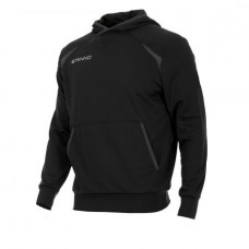 CENTRO HOODED SWEAT TOP (BLACK)
