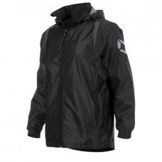 CENTRO WINDBREAKER (BLACK-ANTHRACITE)
