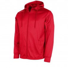FIELD FZ HOODED TOP (RED)