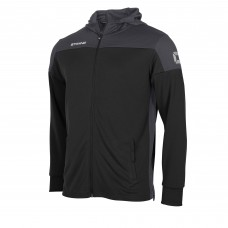 PRIDE FZ HOODED JACKET (BLACK-ANTHRACITE)