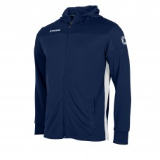 PRIDE FZ HOODED JACKET (NAVY-WHITE)