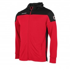 PRIDE FZ HOODED JACKET (RED-BLACK)