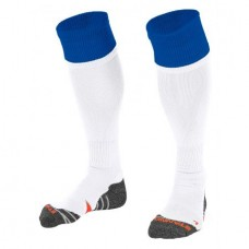 COMBI SOCKS (WHITE-ROYAL)