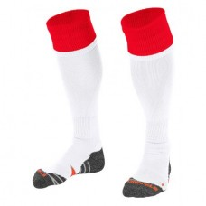 COMBI SOCKS (WHITE-RED)