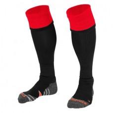 COMBI SOCKS (BLACK-RED)